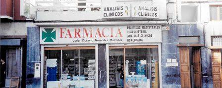 Fachada Farmacia Ciudad Alta