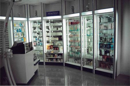 Vitrinas Farmacia Ciudad Alta