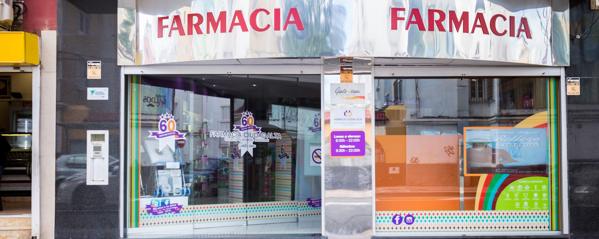 Exterior Farmacia Ciudad Alta