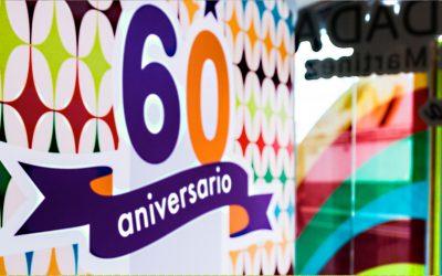 Estrenamos web celebrando nuestro 60 aniversario a tu salud