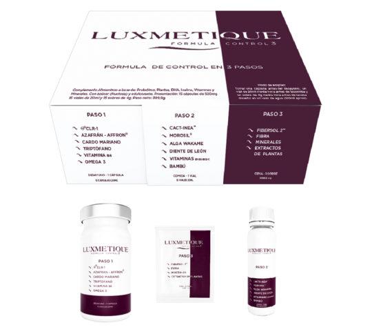 Fórmula control 3 pasos - Luxmetique - Farmacia Ciudad Alta
