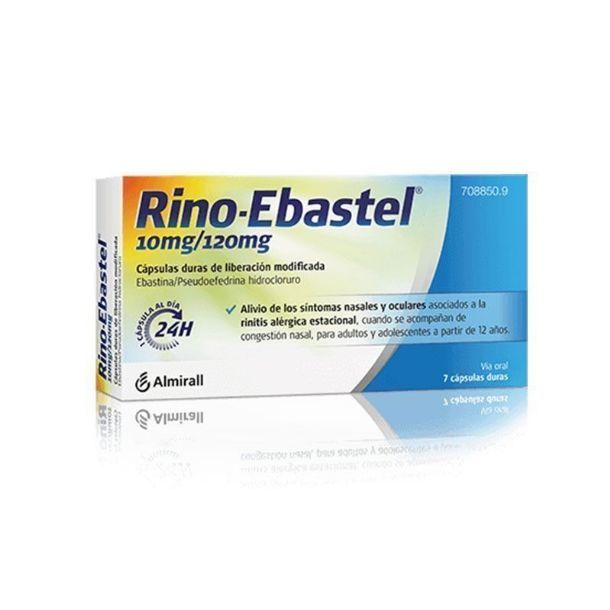 rino rino ebastel - descongestivo oral