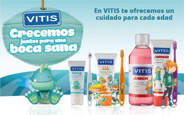 Vitis higiene bucal infantil