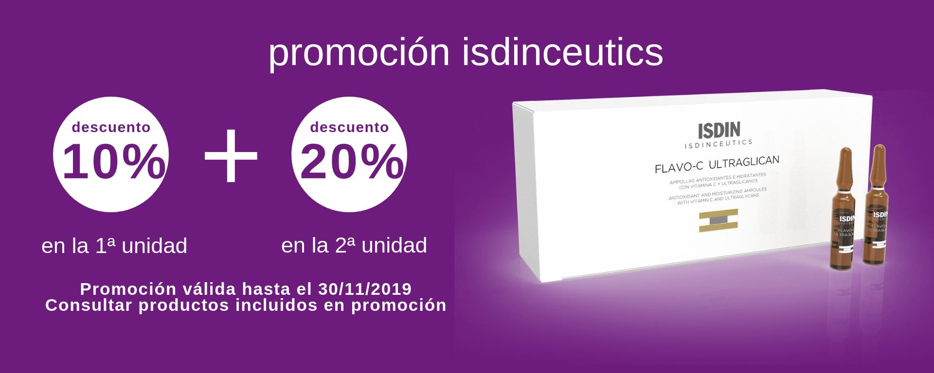 Promo Isdinceutics Farmacia Ciudad Alta