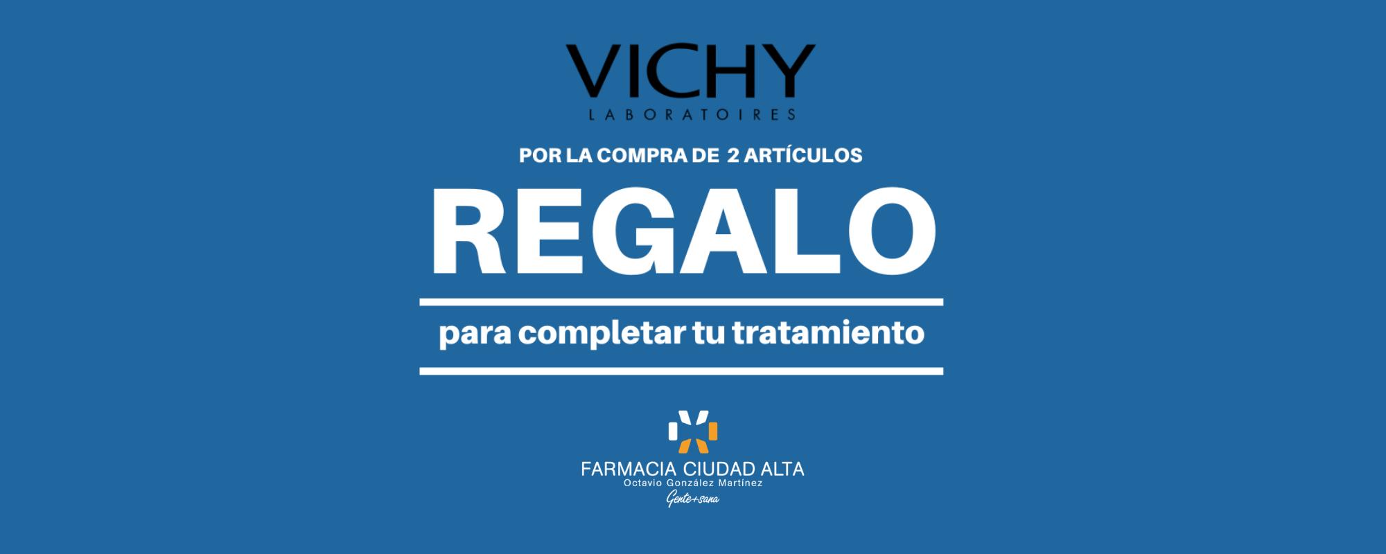 Promo Vichy Febrero en Farmacia Ciudad Alta