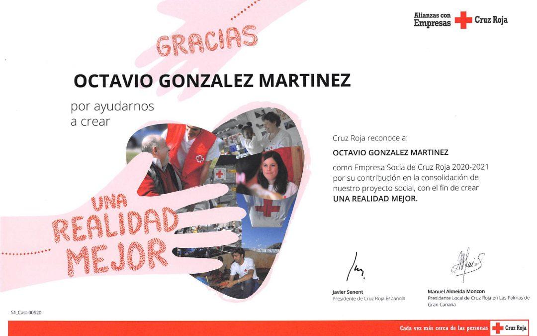 Reconocimiento Cruz Roja