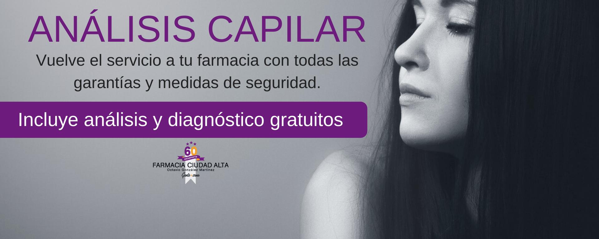 Análisis capilar Farmacia Ciudad Alta
