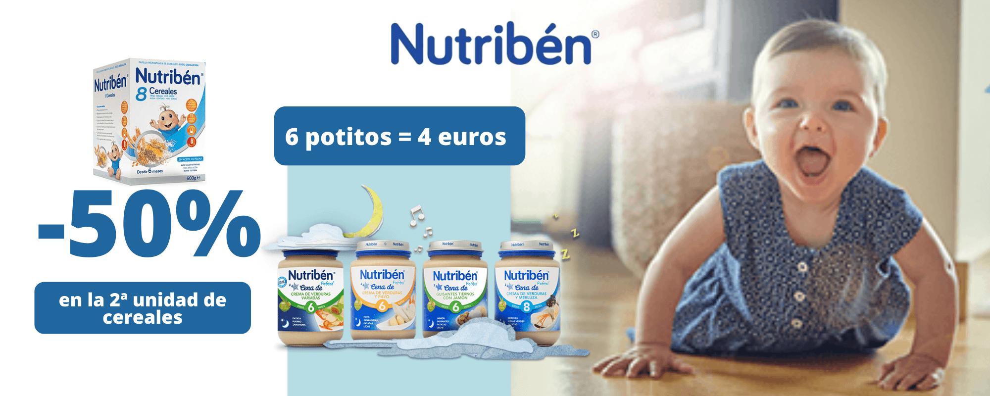 Nutribén - 50 % descuento en cereales en Farmacia Ciudad Alta