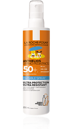 La Roche-Posay Dermo Pedriatrics Spray Invisible - Protectores Solares