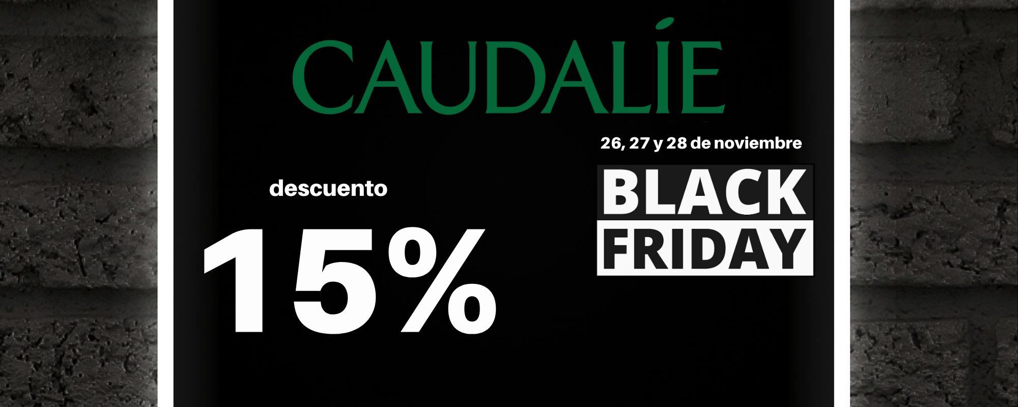 Banner Black Friday Caudalíe Farmacia Ciudad Alta