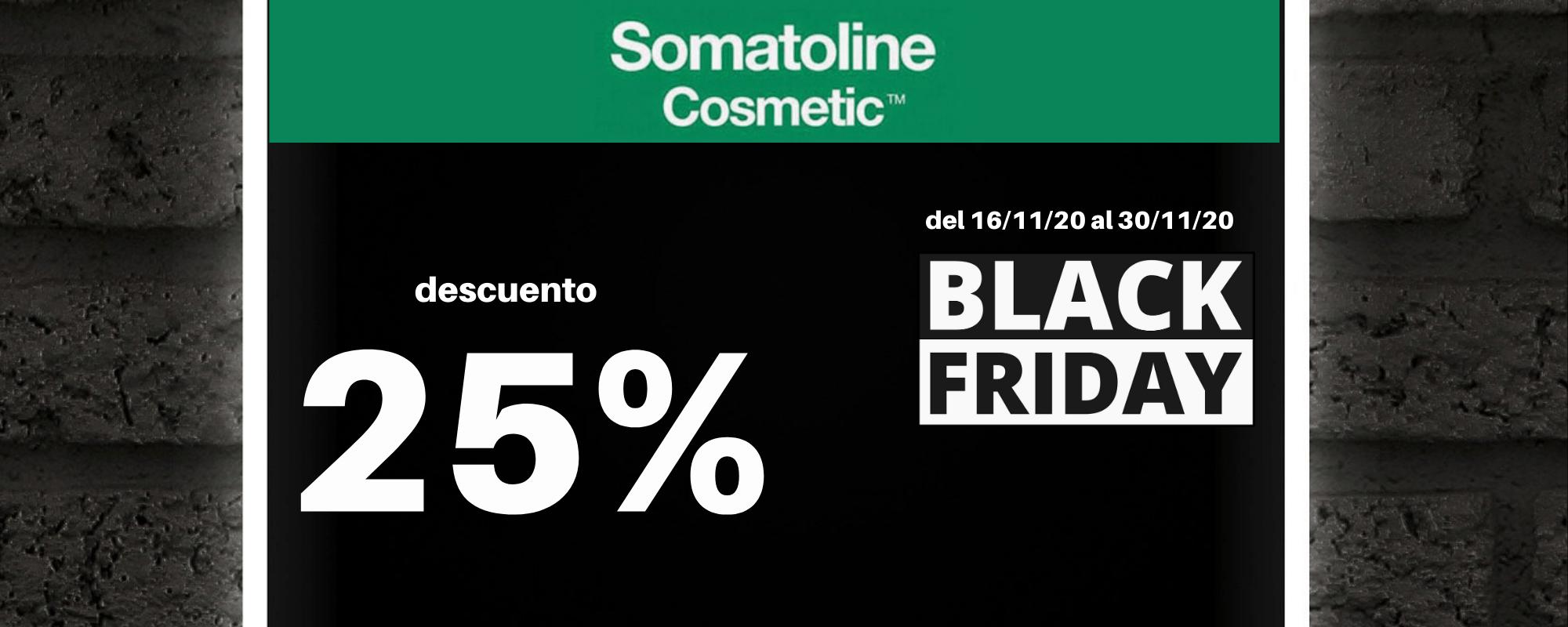Banner Black Friday Somatoline Farmacia Ciudad Alta