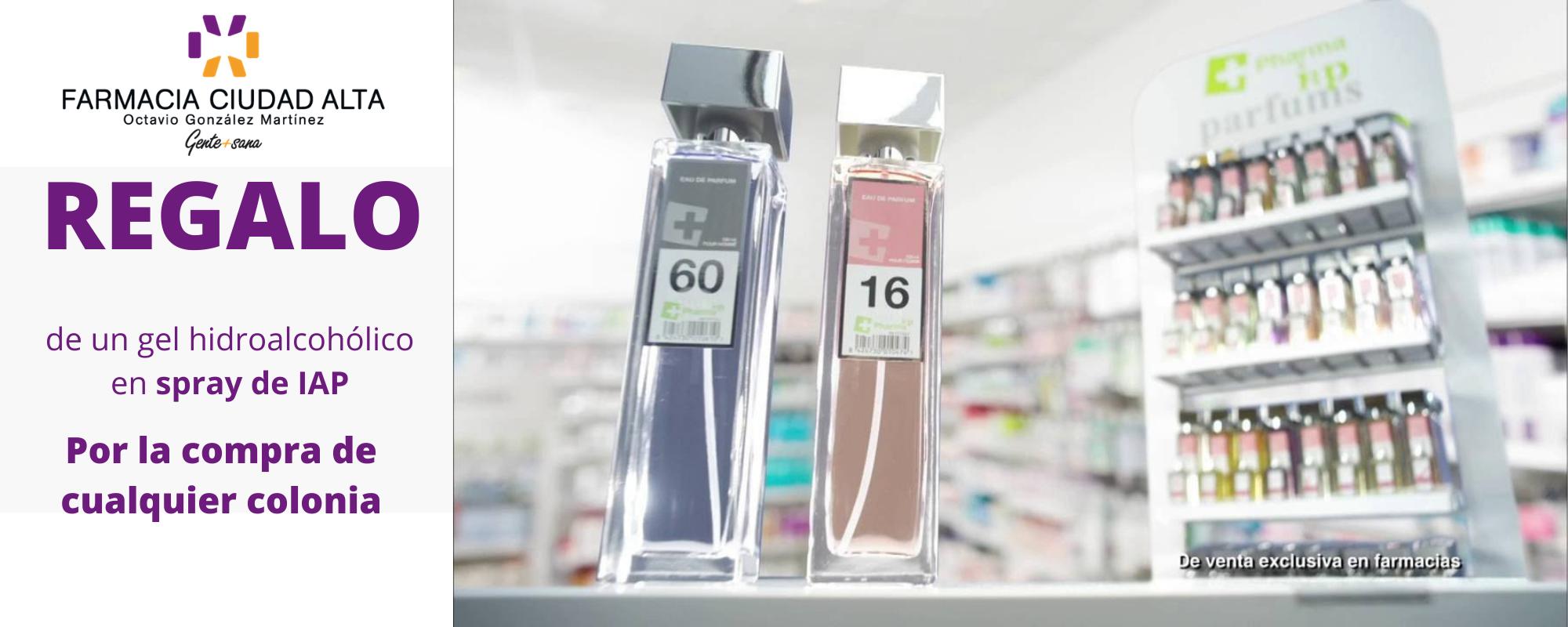 Regalo de spray IAP en Farmacia Ciudad Alta