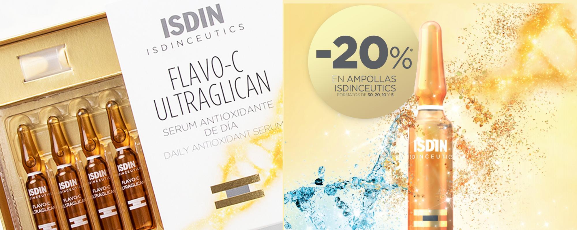 Isdinceutics ampollas - Banner Farmacia Ciudad Alta