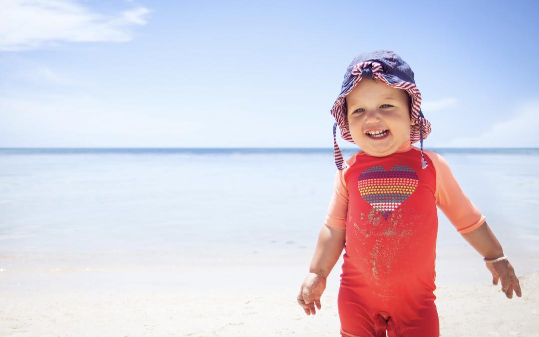 ¿Cómo proteger a los bebés de la radiación solar?