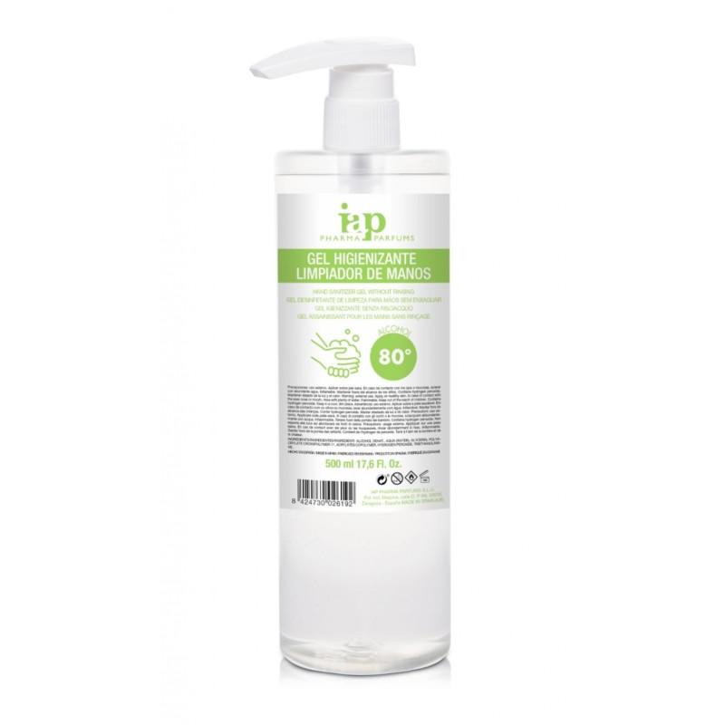 gel higienizante hidroalcoholico de alcohol y glicerina iap pharma